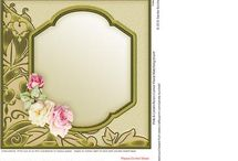 card background and frames