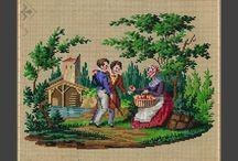kruissteek-berlin woolwork