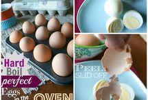 Perfect hard boiled eggs / Hard boiled eggs