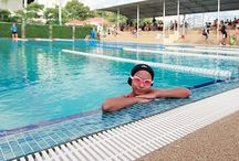 Swim Meet at GIS / A Swim Meet was held between students from GIS and other schools as everyone prepares for the U15 FOBISIA Games. Students were able to use our new-look main pool, which now has its own grandstand.