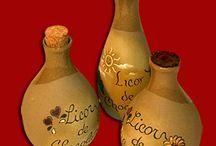 Licores y vinagres aromatizados