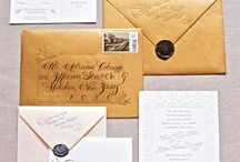 Wedding Invitations, Etc.