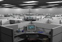 Horribly Depressing Offices or Spaces