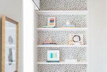 Interiors - shelves