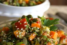 °• Salad Recipes / Delicious salads @ www.dailyquinoa.com