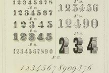idée nombres bullet journal