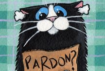 Cat pardon cards