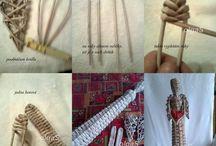 pletení z papiru