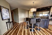The Sangiovese / A 2 bedroom, 1625 square foot suite offering magnificent views of downtown Calgary Skyline and the Rocky Mountains