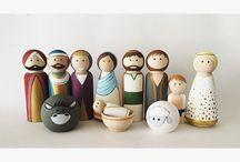 CRAFT / peg dolls