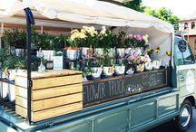 Flower truck / Lite idéer