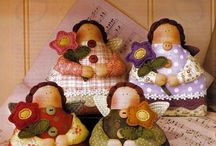 Bonecos de Pano - Bonecas