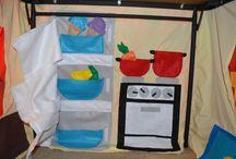 szmaciane kuchnie  dla dzieci
