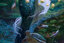 Happy Thanksgiving Mermaid