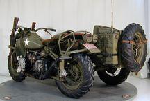 Vojenské motorky
