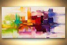 Abstracto  al oleo