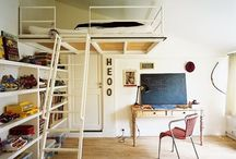 Loft beds / by Jenni Thomas