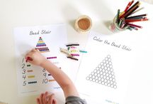 Montessori: Bead Stair