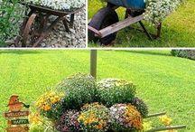 Carrinho jardim