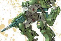 Mechanics > Robots > アストラギウス銀河を二分するギルガメスとバララントの陣営は互いに軍を形成し、もはや開戦の理由など誰もわからなくなった銀河規模の戦争を100年間継続していた。