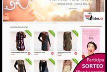 SORTEOS / Participa en nuestro Sorteo y si eres la ganadora elige tu premio de nuestra tienda onlin www.todovestidos.es