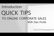 Online sales training with Dan Portik