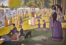 Georges Seurat / Pittura Postimpressionista