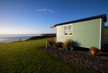 Luxury Shepherd Huts for holiday hire in Wales
