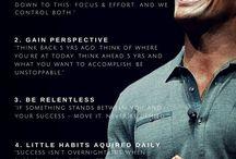 Motivation habits