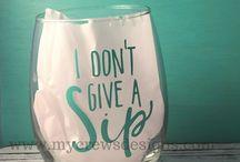 Idéer för glas och muggar