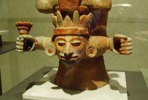 Guder, gods / Meksikansk fallende gud