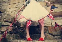 God Save the Queen........ / London, The Union Jack, and all things British, what  a wonderful theme for a party or wedding / by Vintage Design