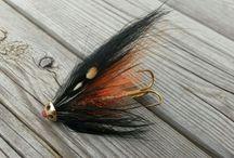 tubefluer / Salmon flies, laksefluer