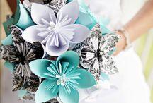 Origami Bouquets / Origami bouquets. Ideas for brides