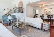 Stately Beverly Hills Home / Carol Nitchman of Grace Home Furnishings worked with her clients to decorate this lovely Beverly Hills home and it's now for sale by Michael Nourmand and Adam Sires of Nourmand & Associates. Additional information and photos here - http://www.nourmand.com/listings/property-detail/3364