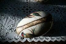 My projects - easter decoupage eggs / Www.inspiracjezdusza.blogspot.com