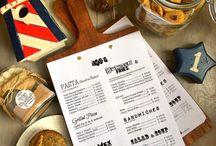 Knajpa menu