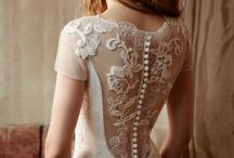 Sexy Back / Dresses with dramatic back details ,these gowns are as gorgeous in back as they are in front. / by so beautiful