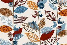 Patterns / Textiles, doodles & graphic patterns