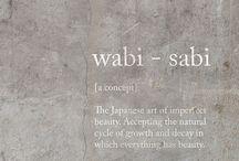 wabi sabi ..less is more