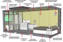 Однокомнатной квартиры дизайн интерьера / На данной странице идеи планировки и фото однокомнатных квартир http://bahtinov.ru/uslugi/dizayn-interera-kvartir/odnokomnatnaya/