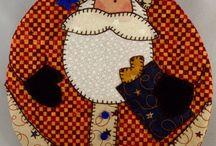 mug rugs/ placemats/things that make into mug rugs / by kristina royalty