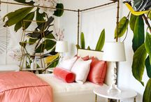 Tropical Bedroom Redo