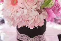 Centerpieces / This board is for inspirational ideas. You may like the centerpiece but not the color. Use this board to help with your own centerpieces. Add to or change the color of the flowers to suit your own style. / by Vickie List