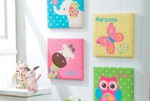 cuadros para el cuarto de bebe