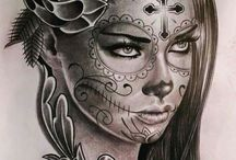 Catrina tattoo willllll ik