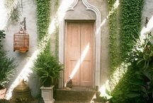 courtyards / Don't we all need a courtyard to sit back in and let your soul soar.