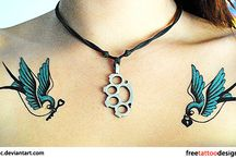 Chest tattoo / Female chest tattoo pieces / by Cristine M.
