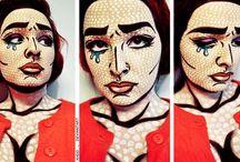 make up pop art