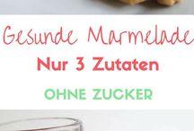 Marmeladen ohne zucker